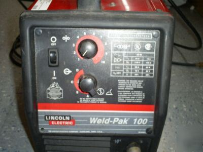 Lincoln Electric Weld Pak 100 No Wow