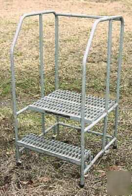 2 Step Ladder Steel Industrial Safety Work Platform