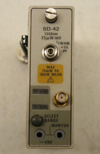 Tektronix Sd 42 6ghz Fiber O E Converter 4 Csa803 11800