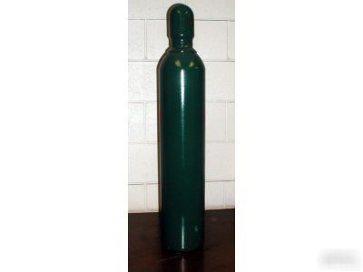 New 80 cf welding cylinder tank bottle for oxygen