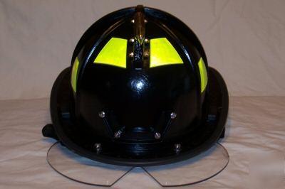 Morning pride ben-2 plus firefighter helmet, black