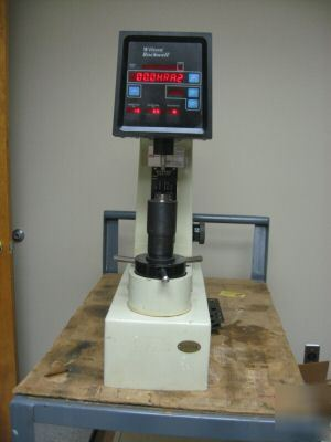 Wilson rockwell digital hardness tester - series 500
