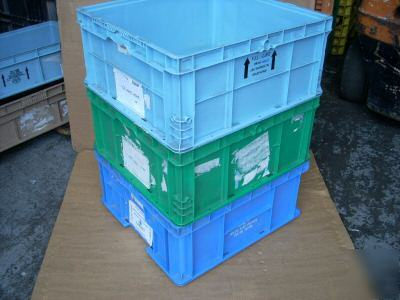 What Is Freight Shipping >> Orbis plastic bin tote container shipping box 24X22X11