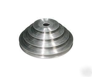 Motor pulley step pulley for bridgeport mill 1hp for Bridgeport mill motor replacement