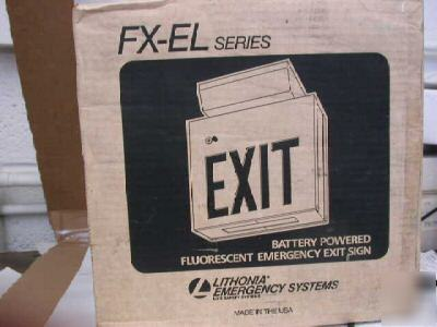 emergency exit sign. emergency exit sign